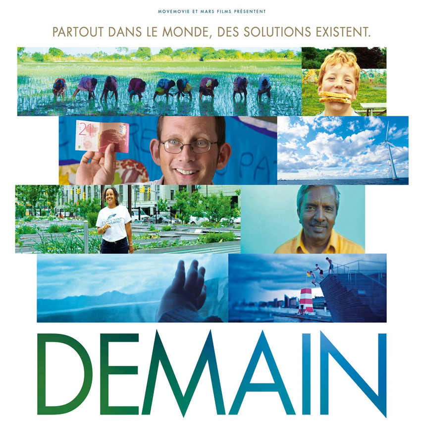 "Projection à la maison des arts du film ""demain"""