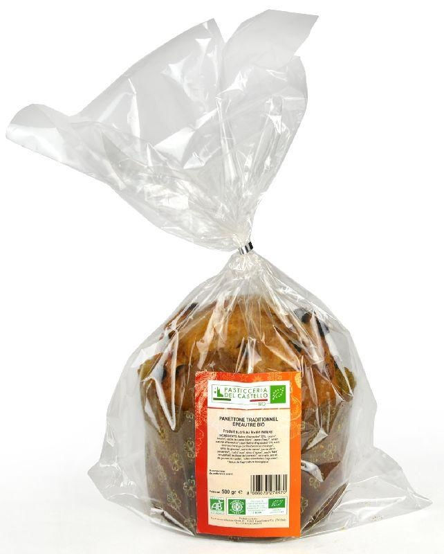 Panettone traditionnel épeautre 500g