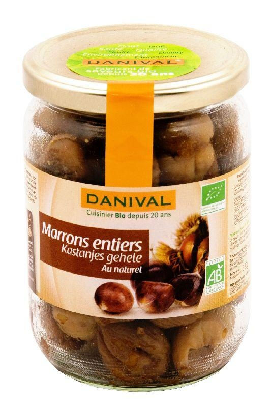 Marrons entiers au naturel 320g